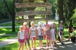 Wycieczka dzieci z zerówki do Rymanowa Zdroju