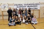 Półfinał 22 Ogólnopolskiej Olimpiady Młodzieży w piłce ręcznej dziewcząt