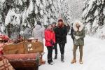 Zimowa sanna klasy IIA
