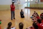 Sabina i Michał Kubisztal w naszej szkole