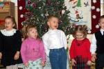 Spotkanie bożonarodzeniowe w oddziale młodszym - fot. A. Kędzior ::  13