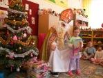 Mikołaj w oddziałach przedszkolnych - fot. T. Ziemba ::  13