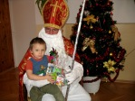 Spotkanie z Mikołajem w Punkcie Przedszkolnym - fot. B. Dworzańska ::  13