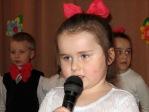 Dzień Babci i Dziadka - występ maluszków i 5-latków - fot. M. Dąbek ::  24