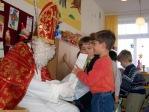 Mikołaj w oddziałach przedszkolnych - fot. A. Szul ::  27