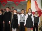 Święto Babci i Dziadka - występ uczniów z klasy 3b - fot. T. Ziemba ::  27