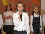 Święto Babci i Dziadka - program artystyczny uczniów z klasy IIIb - fot. A. Szul ::  3