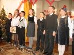 Święto Babci i Dziadka - występ uczniów z klasy 3b - fot. T. Ziemba ::  3