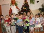 Spotkanie z Mikołajem w Punkcie Przedszkolnym - fot. B. Dworzańska ::  40