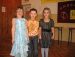 Zabawa andrzejkowa dzieci z oddzialałów przedszkolnych i uczniów z klasy 3b - fot. T. Ziemba ::  45