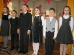Święto Babci i Dziadka - występ uczniów z klasy 3b - fot. T. Ziemba ::  4