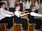 Święto Babci i Dziadka - program artystyczny uczniów z klasy IIIb - fot. A. Szul ::  53