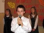 Święto Babci i Dziadka - program artystyczny uczniów z klasy IIb - fot. A. Szul ::  55