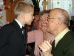 Święto Babci i Dziadka - program artystyczny uczniów z klasy IIb - fot. A. Szul ::  62