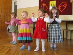 Zabawa andrzejkowa dzieci z Punktu Przedszkolnego - fot. A. Szul ::  65