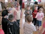 Zabawa choinkowa w przedszkolu - fot. A. Szul ::  73