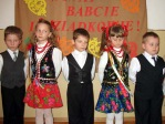 Święto Babci i Dziadka - program artystyczny dzieci z zerówki - fot. M. Dąbek ::  83