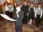 Święto Babci i Dziadka - występ uczniów z klasy 3b - fot. T. Ziemba ::  8