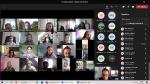 Spotkanie online z uczniami ze Złotowa